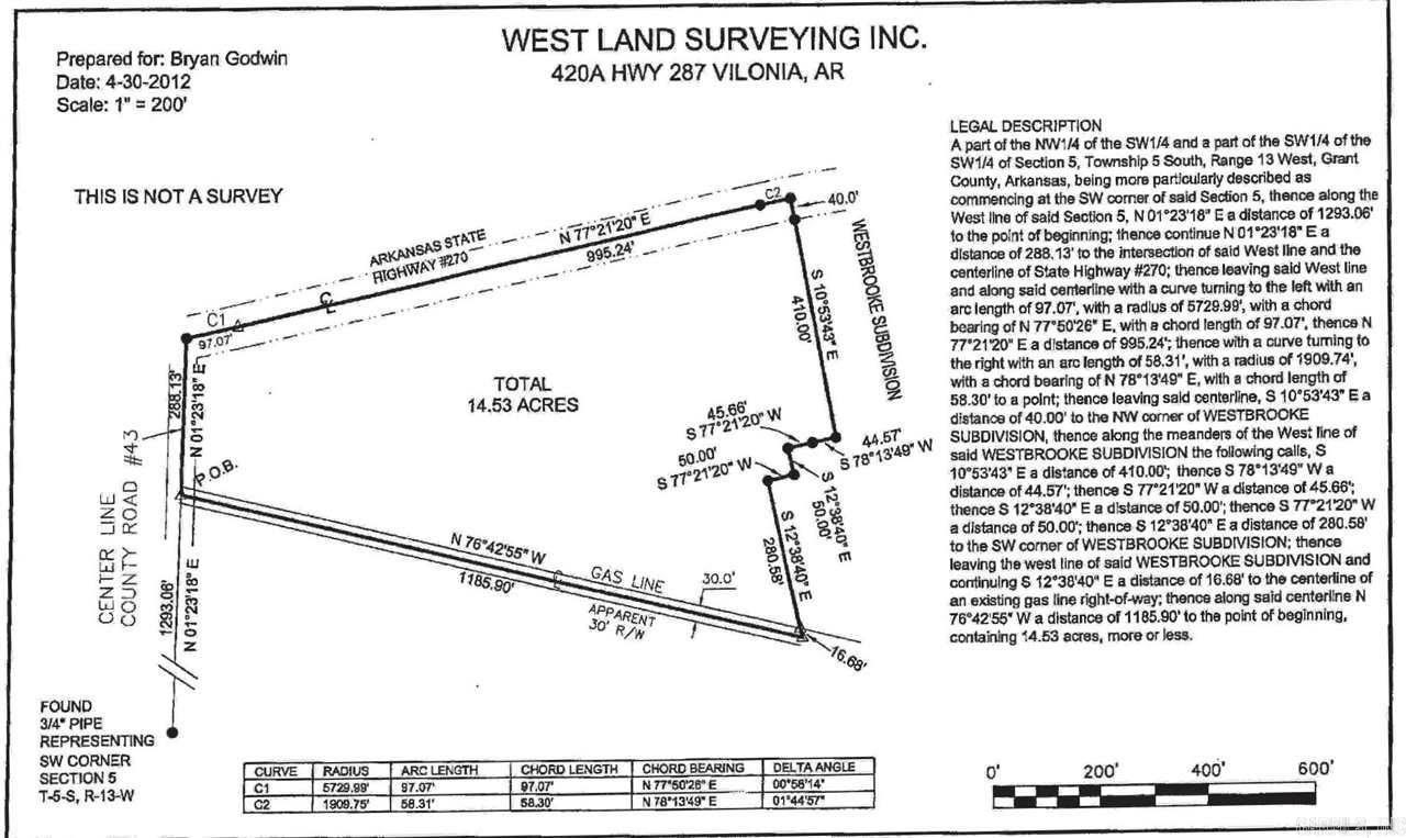 Hwy 270 West & Grant 43 (Country Club Rd), Sheridan, AR 72150