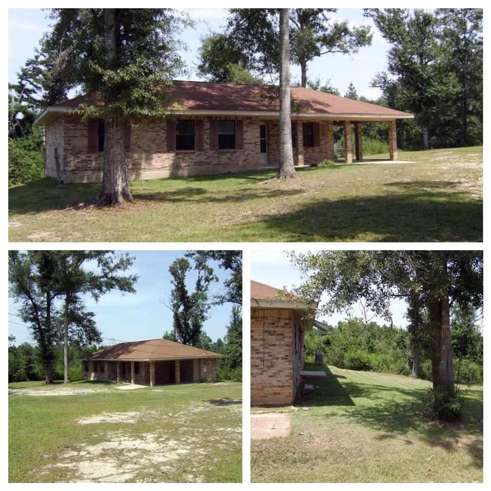 PRICE DROP.....3/1 on 1 acre. Newly painted in & out. New flooring in Bedrooms and Divided Bathroom. New Vanity and toilet. New windows. New Electric range. Dishwasher. Side by Side Refrigerator/Freezer. Pantry. Newer Hot Water Heater. New Heat Pump unit September 2012. Near enough to shopping and schools, but far enough away to be quiet and serene. Easy access to I-59. Only 60 miles from New Orleans and the Coastal cities.
