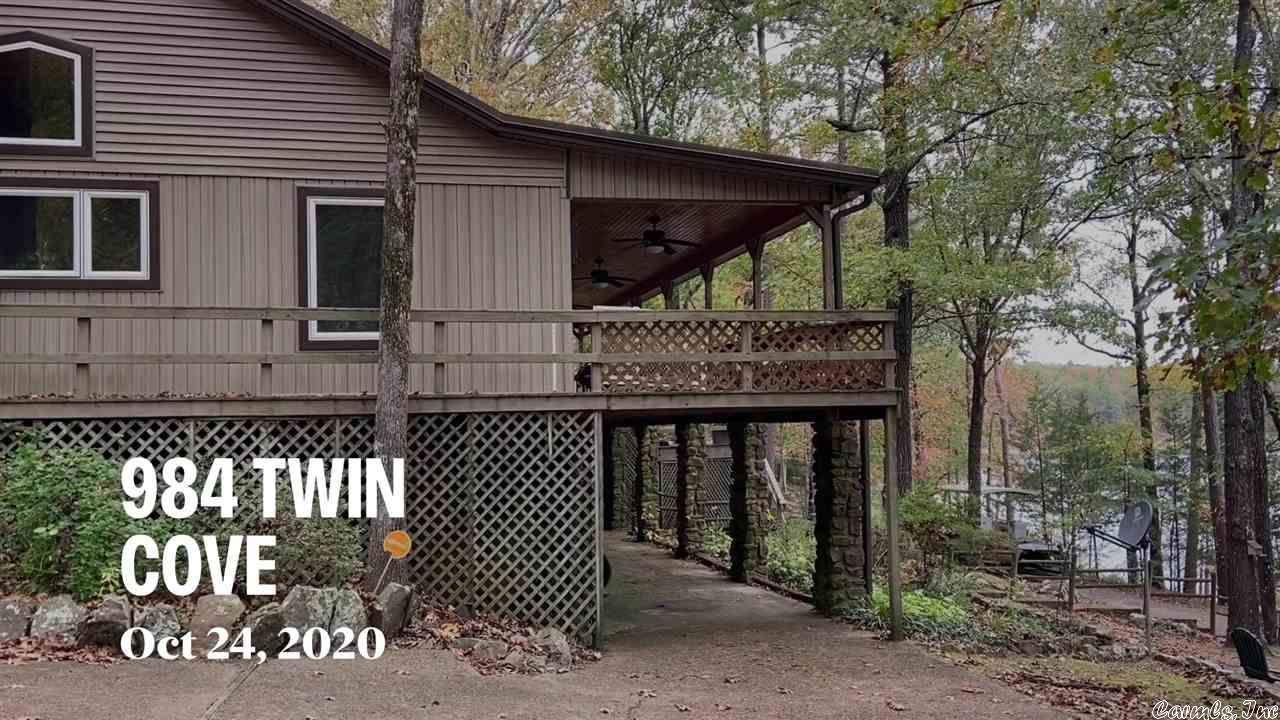 984 Twin Coves Circle, Greers Ferry, AR 72067