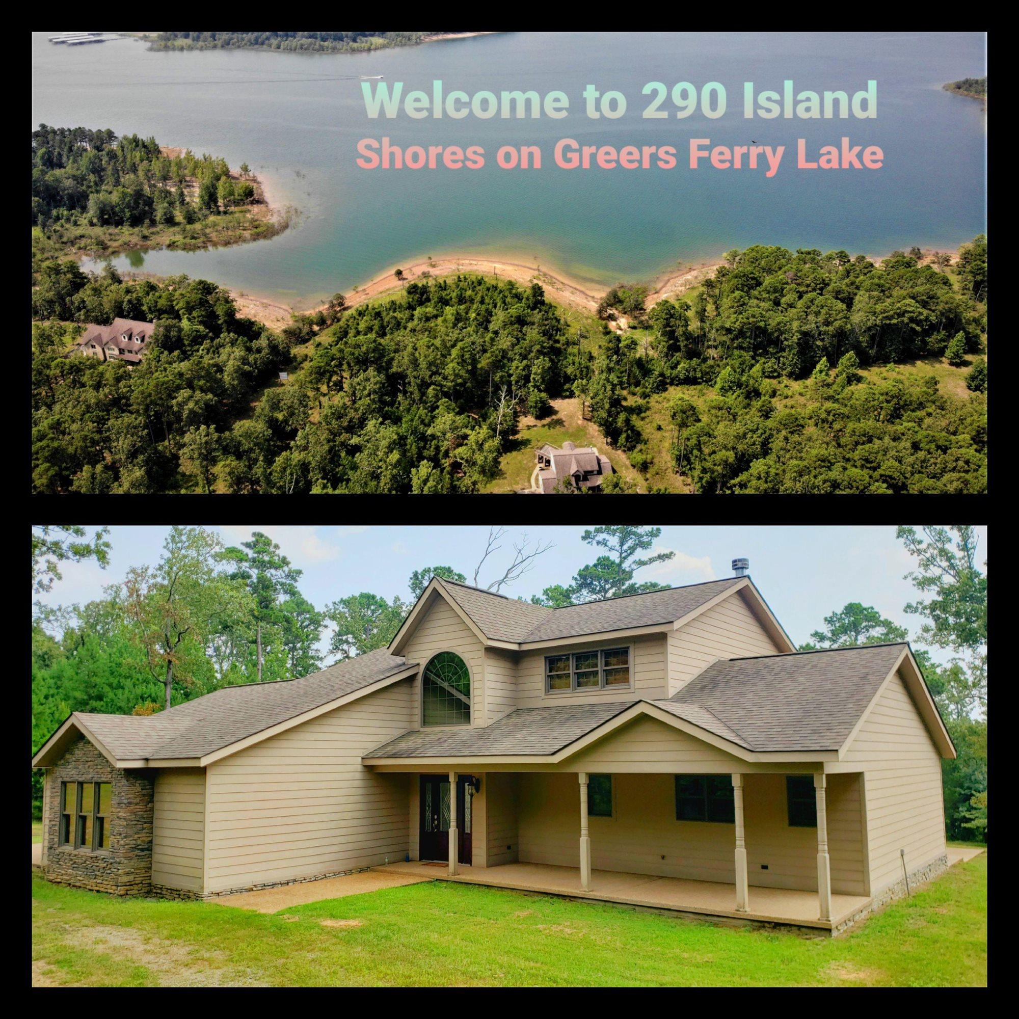 290 Island Shore Lake Front Tannenbaum, Drasco, AR 72530