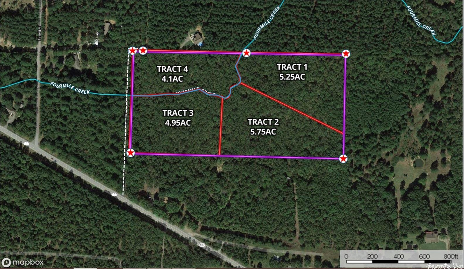 Privacy, peace, and seclusion at its finest in a property with convenient location! Covered in mature hardwood trees, seasonal creek runs through it. The land lays well, with good contour/drainage, fully buildable. Approximately 10 minutes: Cabot/Vilonia/LRAFB, &under 15min to Sherwood. Situated off of the road, and accessed via private drive. Utilities are along Hwy 107 including Entergy, water & buyer to put in septic. Willing to divide-minimum of 5 acres, subject to Seller's approval of Buyer's proposal.