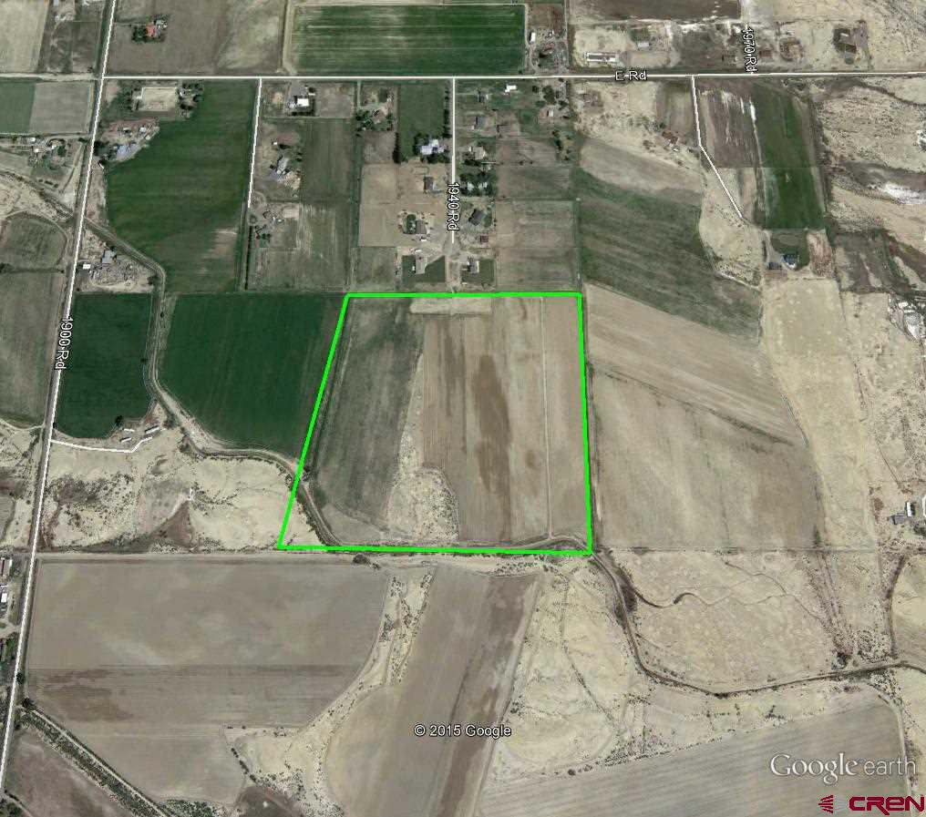 39.76 +/- irrigated acres.  Currently in cultivation.  Great view of the San Juans from this parcel.  Irrigation water, UVWUA, through the 1940 Rd HOA.  Addition access easement from 1900 Rd. (not developed).