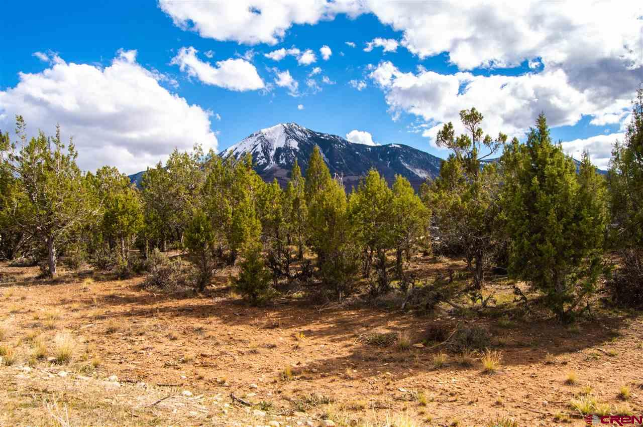 Unobstructed mountain views with Town of Paonia water and sewer taps! Excellent 1.43 acre building site on Hidden Mesa located above the Hidden Valley neighborhood.   Quiet dead-end street near BLM and Mt. Jumbo trails.