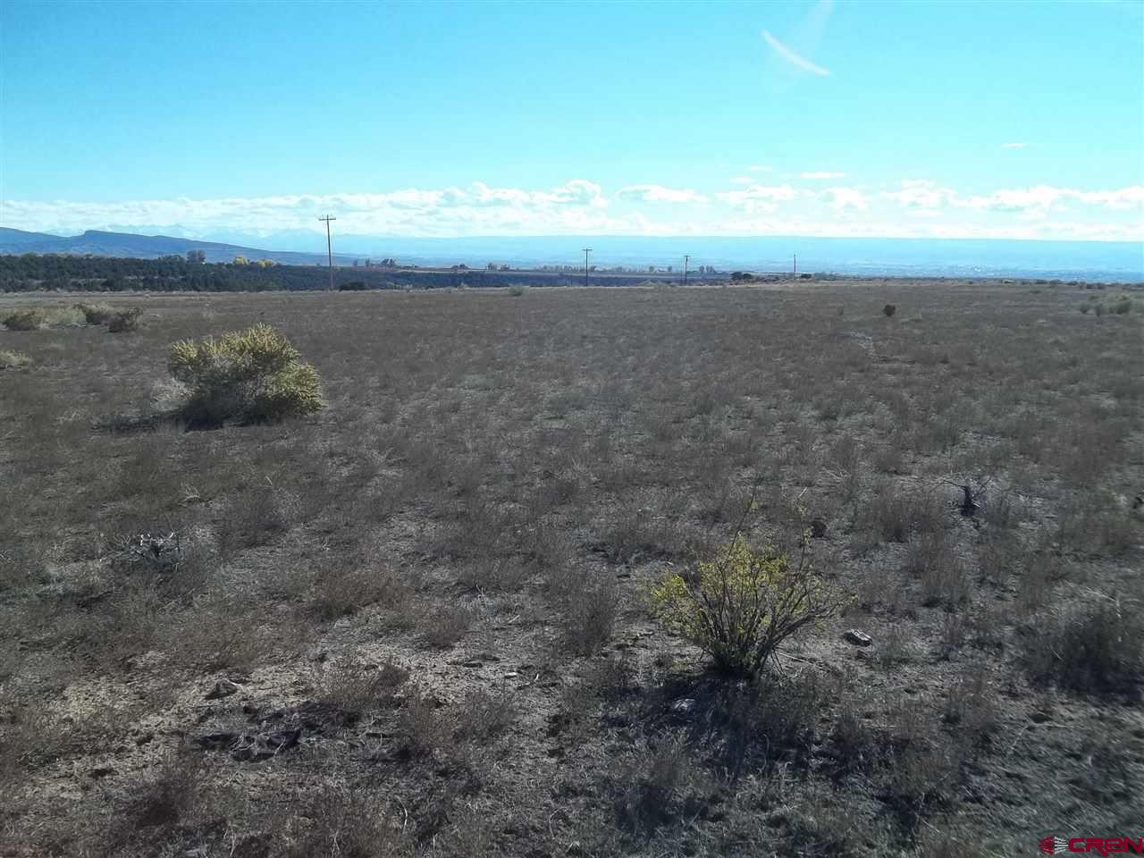 Enjoy terrific views from this Cedar Mesa parcel. 14 acres borders Oriole's Road and has great building sites. The bulk of the land slopes south but the east line goes over the hill to the bottom of Dry Creek.  The utilities are nearby.