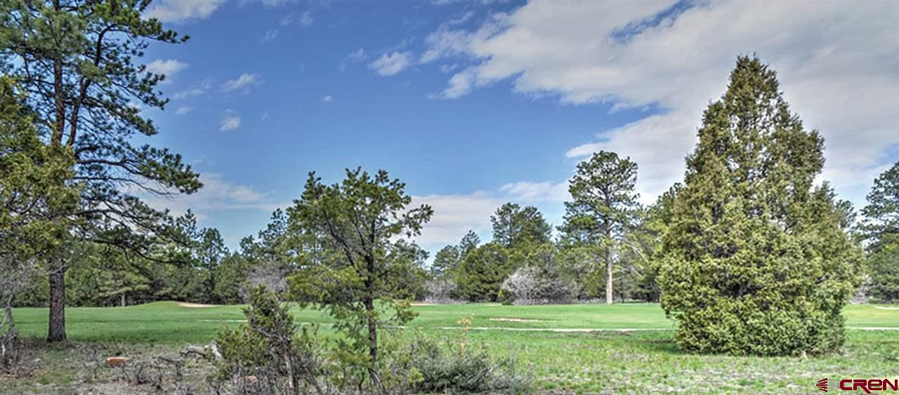 Excellent Building Site with majestic mountain views, lot is treed with Ponderosa pines.  Flat building site on the lot for your dream home.  All utilities to lot line, paved streets. Located in the award winning Divide Ranch & Club, 7,039-yard golf course. Factor in a high-mesa forest with phenomenal views of  Cimmaron and San Juan Mountain ranges. Enjoy the golf club offerings luxurious community experience. Less than four miles from Ridgway, less than thirty minutes from Montrose and its regional airport, and a short drive from Telluride, and Ouray. Must see parcel ready for your dream home!