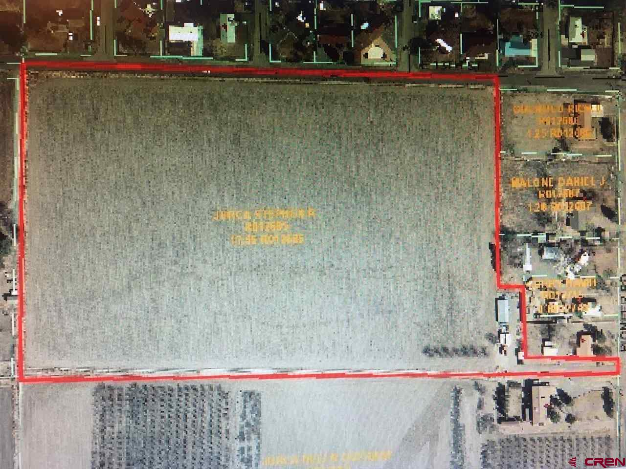 This is 15.5 acres of irrigated farmland with 15.8 shares of UVWUA. Currently leased for farming but would be a great residential lot or prime development property.  Located in the City of Delta close to schools and medical services.