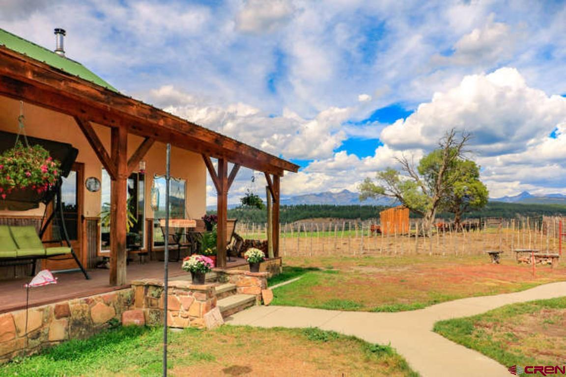 This Colorado dream estate is centrally located and has everything needed to enjoy Pagosa Country. Huge Views, Water Rights, Custom Barn, Single level home, Fenced & cross fenced, Southern exposure, the list goes on and on...