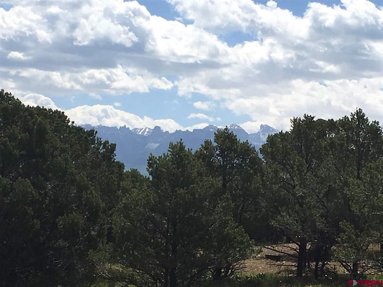 "Affordable and desirable corner lot available in Loghill Village with approximately 2+ acres. This lot is located on the corner of Ponderosa Drive and Cedar Lane West. If you orientate your home facing east you will enjoy the most gorgeous Cimarron Mountain views.  These views are definitely from a second story home, but blue skies and alpenglow will be appreciated year round.  This lot is mostly flat and usable with abundant Piñon and Juniper trees.  This would be a great purchase at a price that would make building your dream house more affordable.  This established subdivision has ""deer"" trails throughout to hike and enjoy the wildlife and scenery. Dallas Creek Water, San Miguel Power and Black Hills gas readily available."
