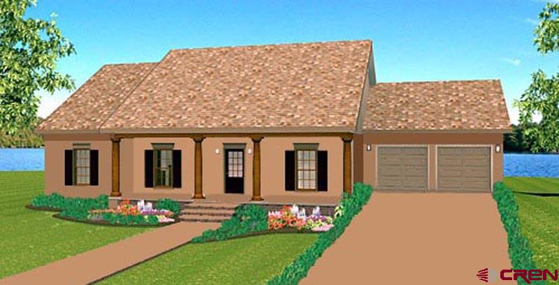 """Price reflects the base price ($279,000) plus the cost for buyer-selected upgrades of the new home to be built on this lot using """"The Telluride"""" floor plan (MLS #742293). """"The Telluride"""" is one of four 3BR/2BA floor plans (see also MLS#s 742292, 742294 and 742295), all under $300,000, including the price of the lot, that can be built on other lots available through RE/MAX Mountain West in the North Ridge Meadows Subdivision."""