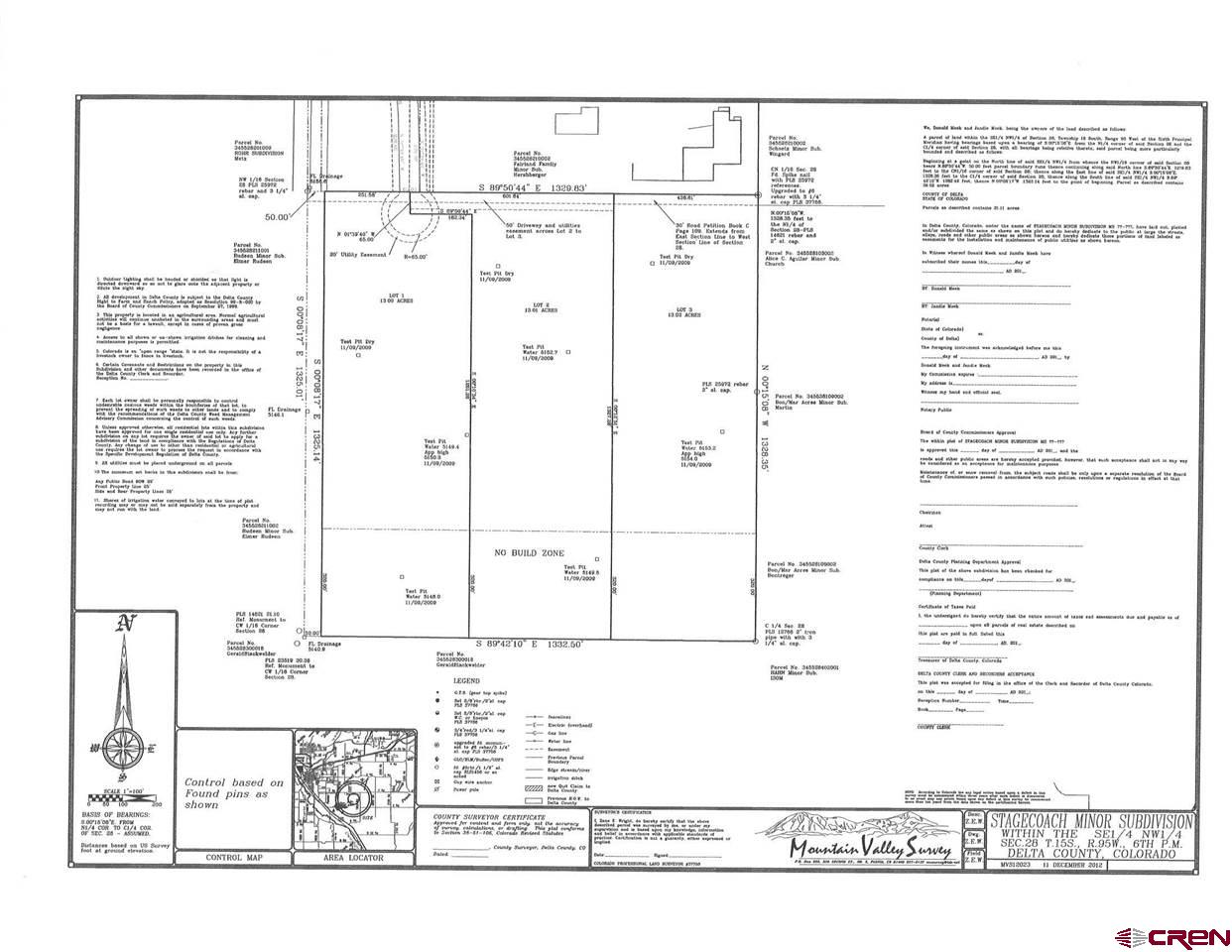 Attention Developers!!! Sellers motivated!! Great solar farm potential. This is an approved paper subdivision consisting of three 13 acre lots. Could possibly be subdivided into more lots with County approval. Close to Delta High School, views of Sweitzer Lake, great location!