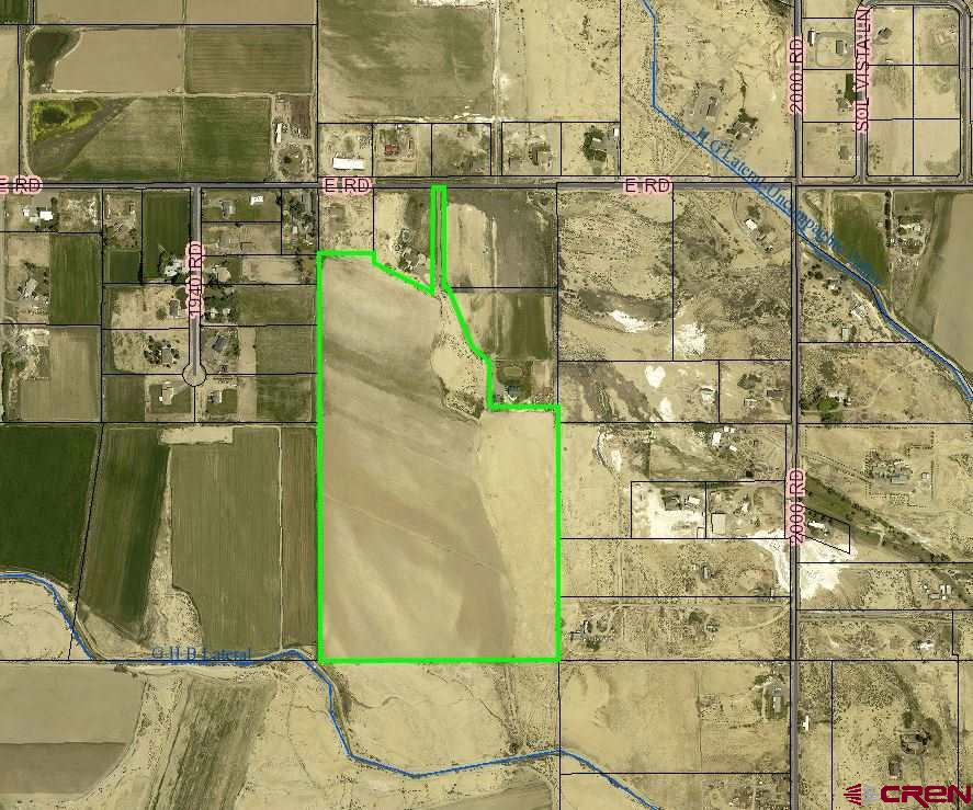 Farm ground!!  58.92 irrigated acres. Currently in cultivation. Great view of the San Juans from this parcel. Irrigation water, UVWUA,through the HOA.  Plenty of room for a homesite!