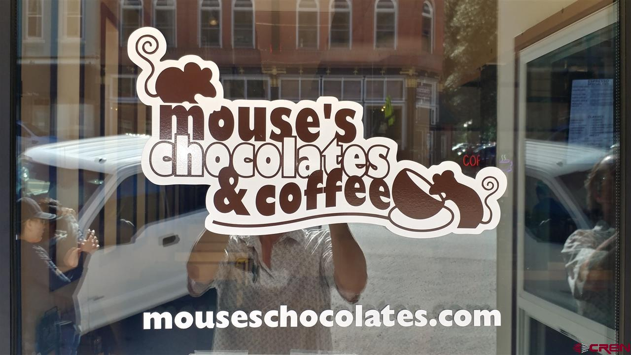 Exceptional business opportunity opportunity on the busiest corner in Ouray Colorado. Own one half of the vibrant and successful Mouse's chocolates. The purchaser can be an operator or investor and will receive training in all aspects of the business and accounting. Learn the art of crafting find Belgian truffles. Enjoy a career where you make people smile. This profitable business has received a makeover with almost all new equipment. Serious inquiries only. Non-Disclosure Agreement required. No Real Property transfers.