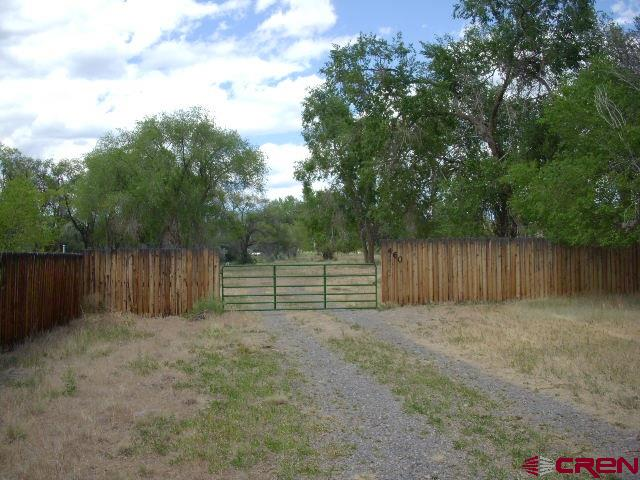 Rare find.  5 acres with irrigation water in town.  Quiet area off the beaten path.  Close to schools, golf course, waliking path along Surface Creek and walking distance to all the amenities of Main Street and shopping.  There are lots of large cottonwood trees and a small pond.   This one offers privacy yet close to all the conveniences of living in a small rural town.  Bring the horses, dogs, oh, and the family and build your dream home.
