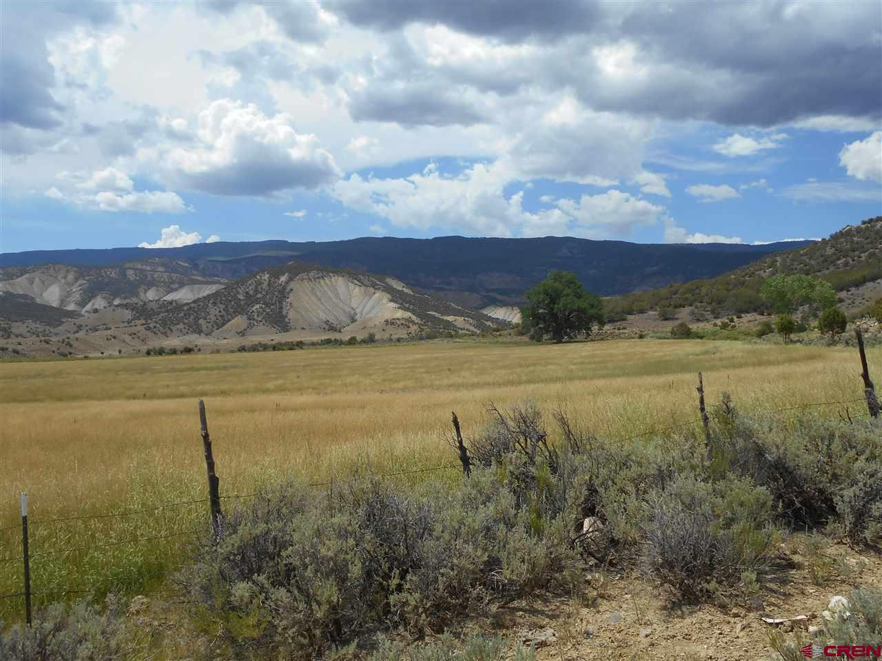 1423 acres with approximately 230 acres of irrigated pasture and hay ground. Approximately 125 acres hay-able with 70 acres under four (4) Pierce mini pivots.  Irrigation water is Leased.  Pipe corrals and high fence stack yard.  There are 3 old homesteads on the ranch. Great place for a ranch headquarters. Oak creek runs through the property.