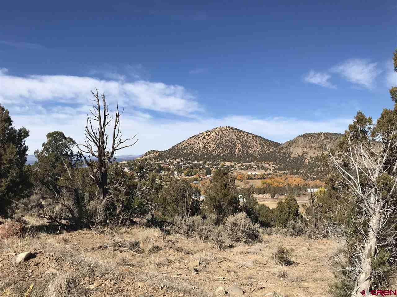 Superb 360° views of the North Fork Valley, Crawford and Grand Mesa!  Park yourself on top of this lot and you will never want to leave.  Look to the right and you can see the reservoir, straight ahead, Needle Rock, Left, Grand Mesa.  This building site is the best of the best in this unbelievably beautiful area.  4.97 acres, electric and natural gas on the property.  Water and sewer taps are paid.  Bring your plans and your Builder.  This parcel is NOT part of the subdivision and does not have any covenants.