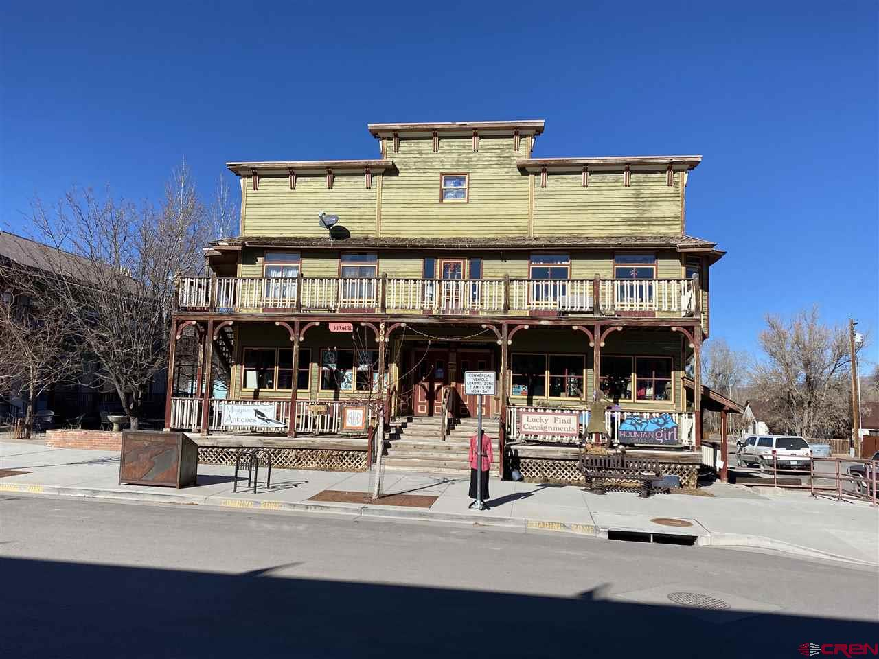Prime Commercial and Residential Ridgway Property. Great opportunity to be a part of the heart of Ridgway. Two residential spaces, and five commercial spaces. What are you waiting for!