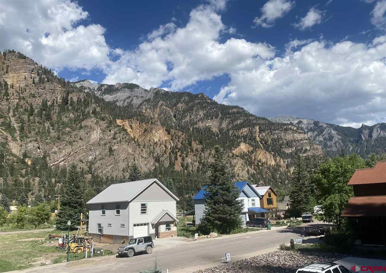 New Construction in Ouray!!! Open floorplan with a large bright kitchen! This property is in a quiet neighborhood within walking distance to town and the river walk. Beautiful views of the mountains from every window! This is a great opportunity to customize your dream home! Zoned R2 for short term rentals makes this property very desirable! Estimated completion date fall of 2021.