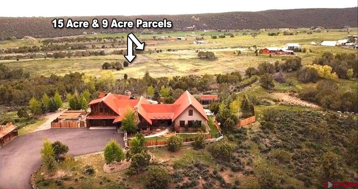 This private Residential vacant land sale includes 2 separate parcels and fantastic mountain views!!  Secluded location for privacy, yet also close to town and other wonderful North Fork amenities (organic fruit growers, wineries, greenhouse, bed and breakfast, etc).  Over 24 acres total with irrigation water, a shared domestic well (that can also irrigate 1/3 acre per parcel if desired), and moderate covenants to protect property values.  Both parcels can have a home and outbuildings, have 1/3 interest in the well water and association, and 8 shares of Highline Ditch Company Series A irrigation water (for a total of 16 shares).  Owning both parcels allows for controlling interest in the 3-parcel irrigation water sharing agreement.  Highline Ditch borders East end of property.  Fire protection plans have been maintained by the owner.  Domestic animals are allowed, plus one large animal per acre (approx. 24+ acres total in this sale).    Additional 13+ acre parcel with a luxury home/ranchette and pond is also for sale which adjoins these parcels (across from Highline Ditch).  Schedule a showing today to see if this is the perfect spot for your new home (or two homes!) or your hobby ranch!  Owner financing is available with a full-price offer and at least 20% down payment.  Call or email for more details.