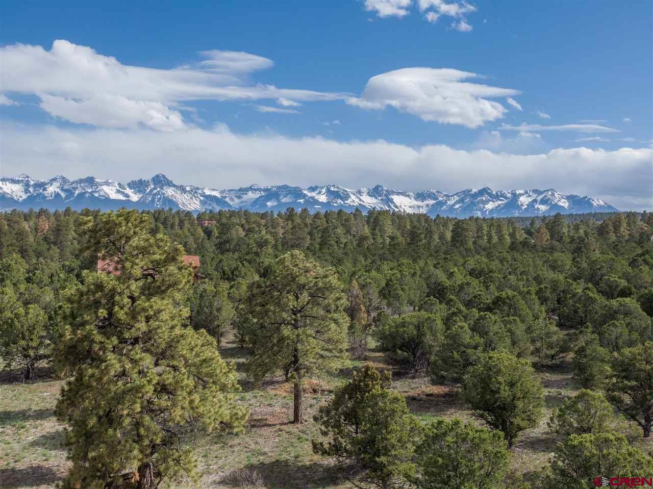 Beautiful 4 acre perimeter homesite in Fisher Canyon South subdivision on Loghill Mesa. Easy 15 minute drive to downtown Ridgway, 35 minutes to Montrose. Exclusive and quiet neighborhood with just 36 homesites that have been thoughtfully designed for privacy. Ponderosa Pines provide ambiance while the second story offers panoramic views of both the Sneffels and Cimarron mountains. Level terrain facilitates easy access and construction. Utilities to the the lot line. Tap fee is paid for Dallas Creek domestic water. Idyllic western lifestyle awaits!