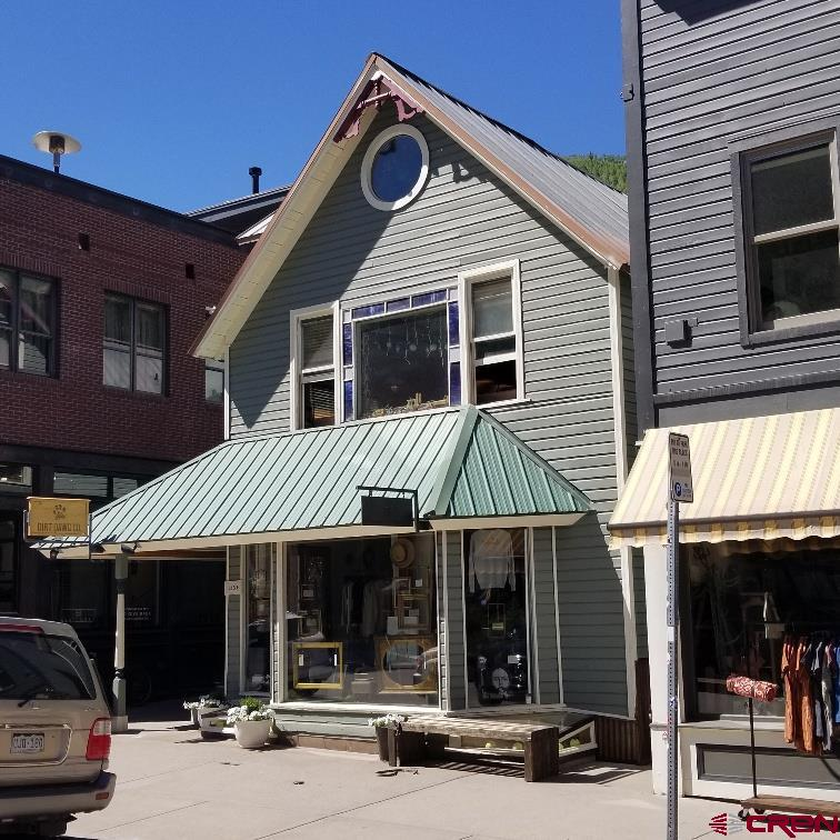 Great central downtown Telluride location on the sunny side of Main Street in the Fino Building! Walk to shops, restaurants, Town Park Top floor unfurnished 422 sq. ft. studio with private entrance in rear of building and deck off of living area. New water heater in 2020. New rear exterior staircase approx. 3 years ago. Long-term tenant lease thru 9/30/2021. No interior photos. 24-HOUR SHOWING NOTICE REQUIRED FOR TENANT; NO EXCEPTIONS.