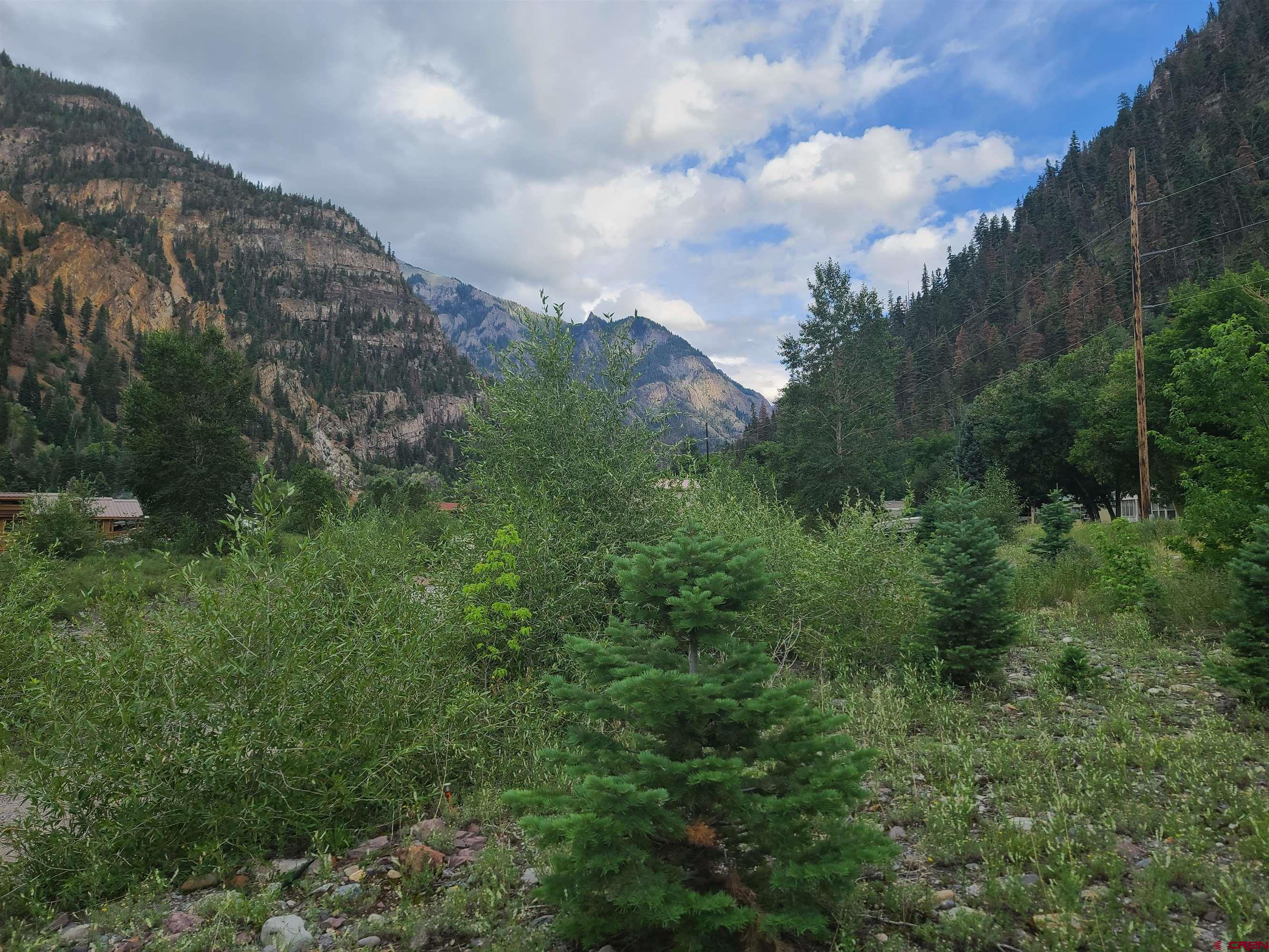 This is a great potential development parcel. Wonderful lot along the Uncompahgre River and North Ouray Corridor trail. All utilities at the property line. Flat and totally usable. Great views of the river and surrounding mountains and mining structures. Zoned R2 which allows for single family or multi family structures.