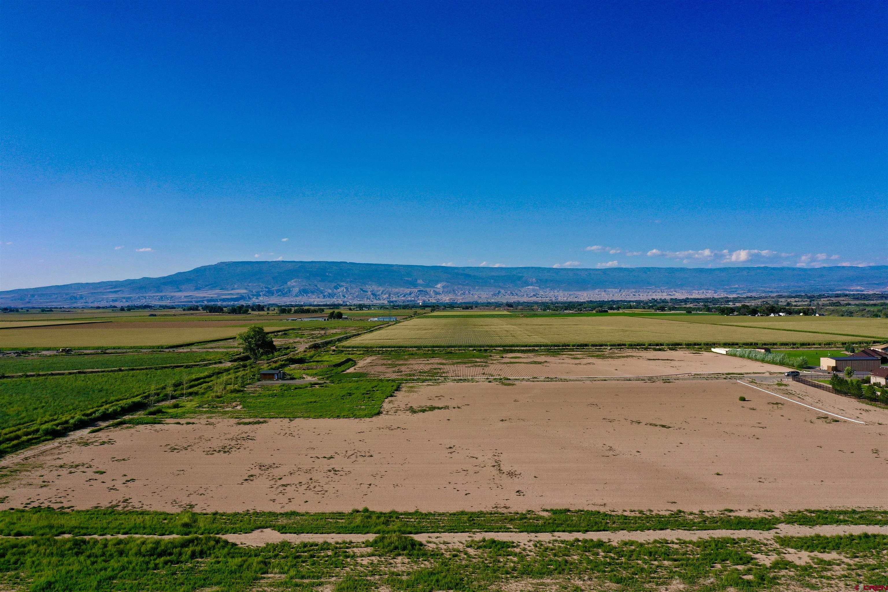 An amazing 19.5 acre parcel!! This property has fantastic improvements that have already been made, including a paid and installed domestic water tap, power run on to the property, an engineered septic plan, a 700+ foot driveway, multiple alfalfa valves, 19.5 shares of UVWUA irrigation water and more. The views from this property are 360*!! Come build your dream home on irrigated acreage on the highly desirable California Mesa, or consider subdividing. With fertile ground and all of the infrastructure ready for construction, this property is a true Western Colorado gem. Come see all that this one has to offer!