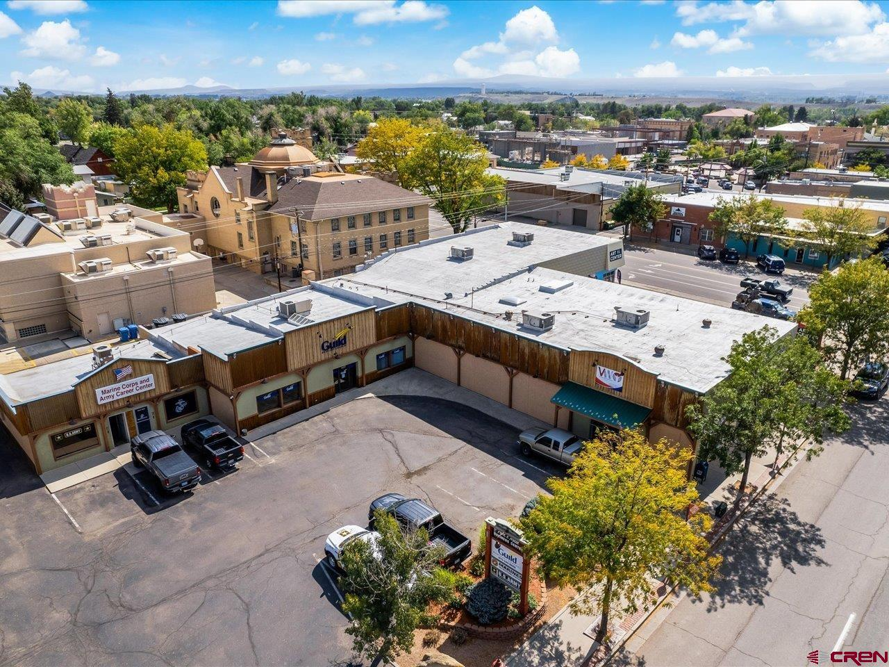 Investment opportunity in downtown Montrose, CO. The multi tenant retail complex has six tenants and some additional spaces that could be completed to add a few more. Building is in great shape and offers designated parking lots in a busy Main St retail area of a quickly growing community.
