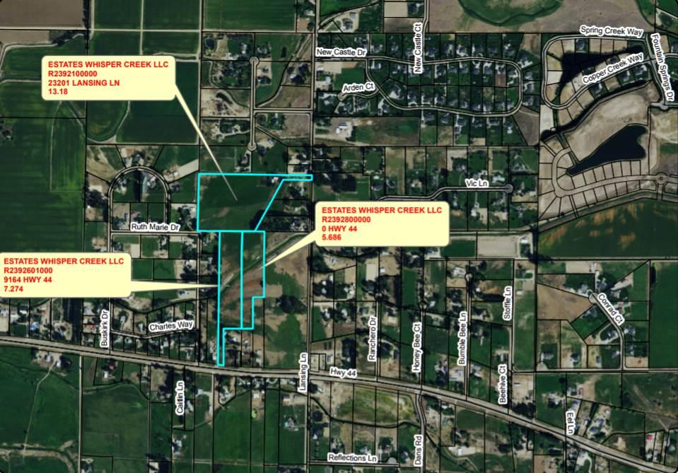 23201 Lansing,Middleton,Idaho 83644,Land,23201 Lansing,98625022
