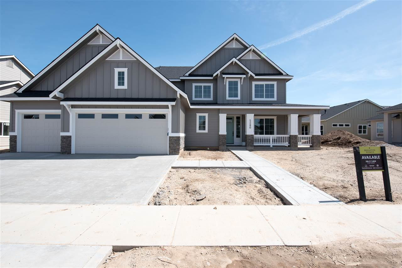 New homeowner needed! Main level Master, the den with adorable barn doors is on the main level. Kitchen features White Cabinets, walk in pantry with coffee bar, Bosch appliances and Kohler throughout, a Brighton standard. 4 bedrooms and media room upstairs. Full landscaping and fencing is included. This is the Energy Star Certified Somerset. Photo Similar Non-Standard Options May Be Shown.