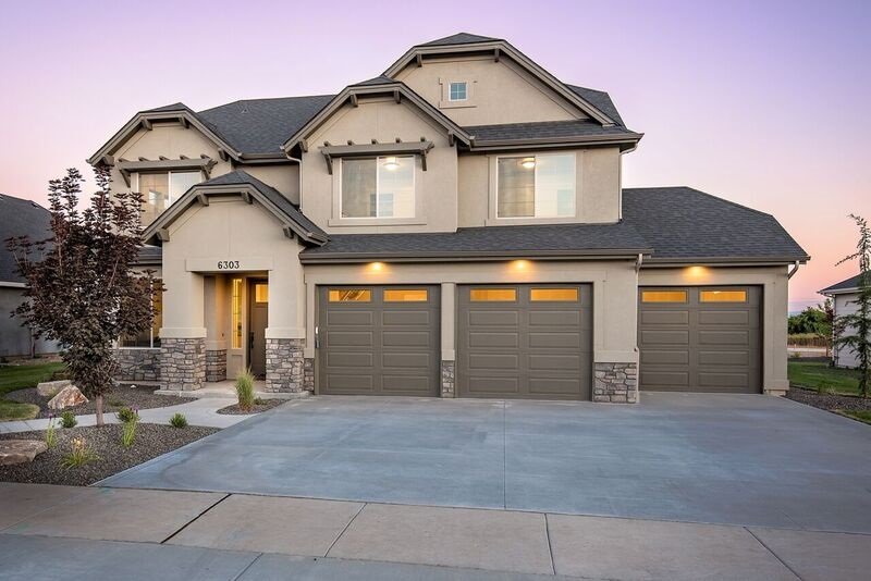 The Bandon by master builder Brighton Homes. This unique floor plan gives you plenty of flexibility w/4 beds, 2.5 baths, office &flex room. Lavish upgrades such as quartz, hardwood & tile floors, custom Alder cabinets & built ins, Bosch SS appliances, cozy fireplace, 3 car garage. Energy Star Certified w/ HERS rating of 67!  Photo Similar Non-Standard Options May Be Shown. Interior specs shown are subject to change prior to completion date.