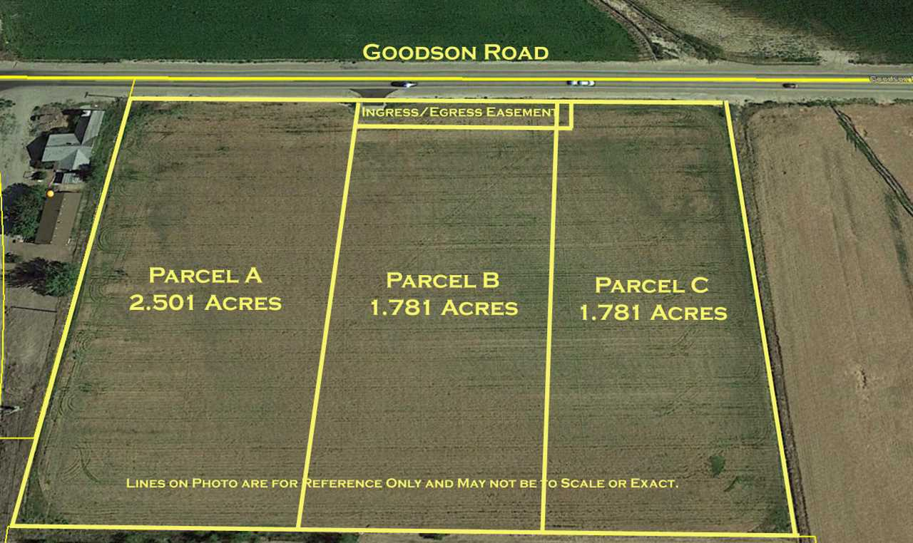 Parcel A Goodson Road, Caldwell, Idaho 83607, Land For Sale, Price $129,900, 98714171