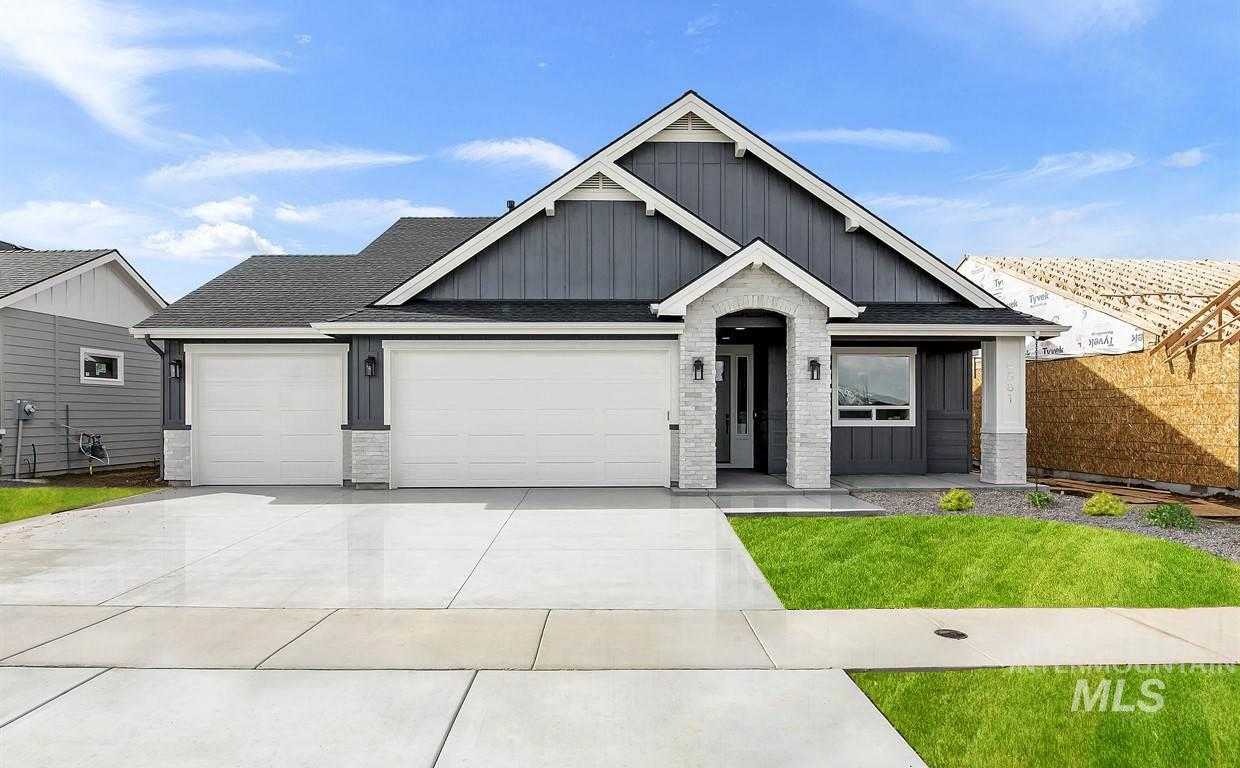 6881 N Callery Pear Ave, Meridian, Idaho 83646, 3 Bedrooms, 2 Bathrooms, Residential For Sale, Price $446,257, 98716380
