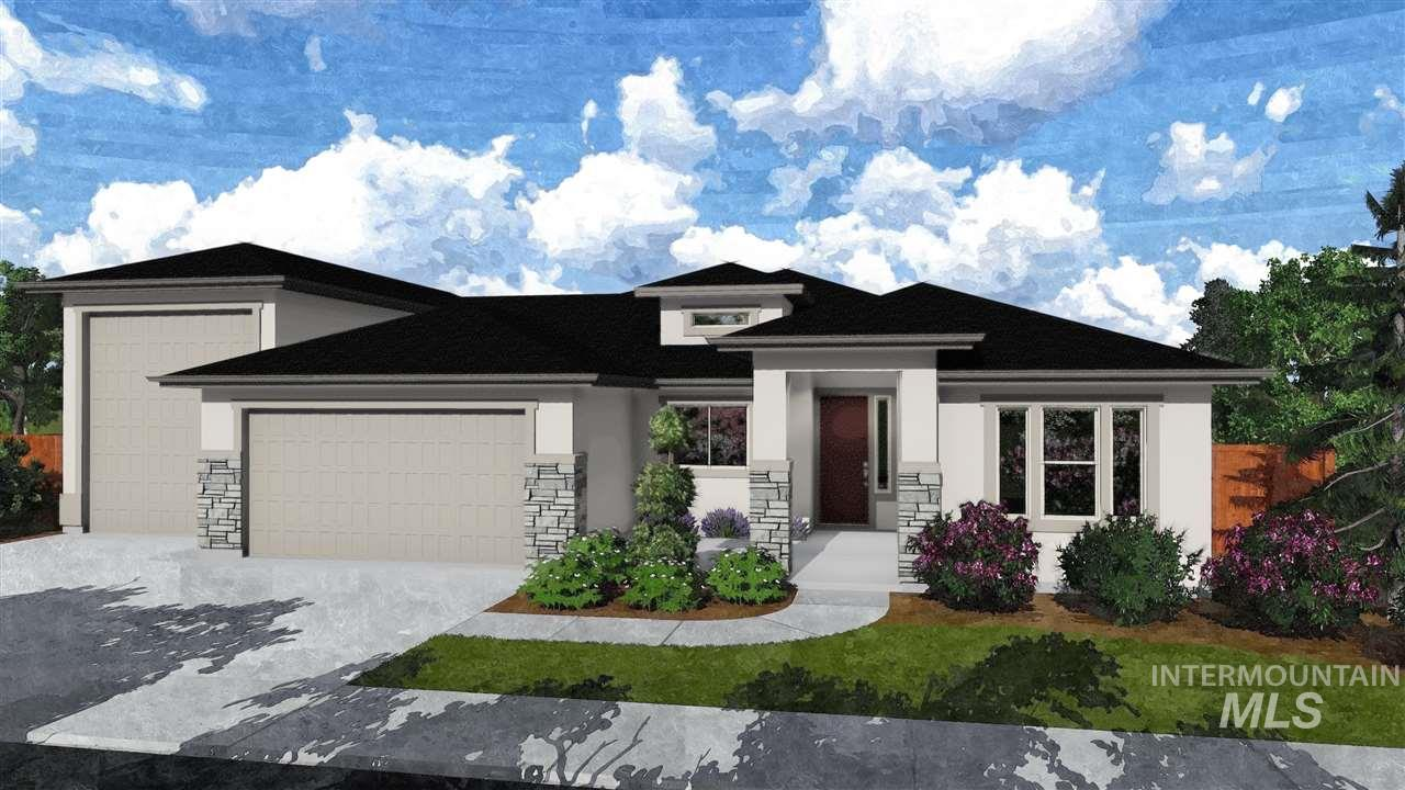 The Custom Davenport RV by Tresidio Homes. Beautiful single level home with fabulous exterior appeal. 3 bedrooms, 2.5 bath, Large great room, dining nook and covered patio. Den. Stainless steel appliances, large walk in pantry. 2 car garage plus RV garage,
