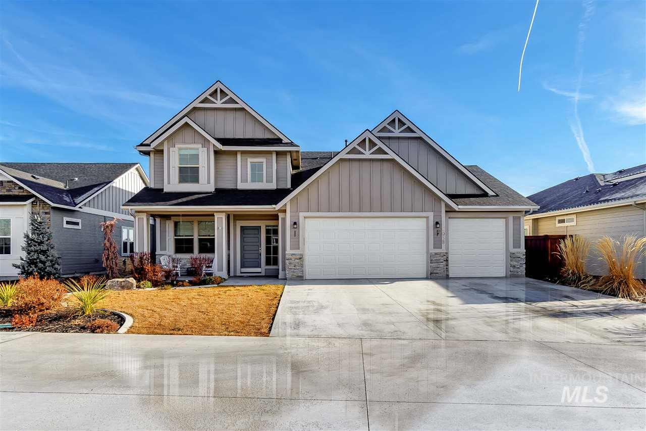 6058 N Eynsford Ave, Meridian, Idaho 83646, 4 Bedrooms, 2.5 Bathrooms, Residential For Sale, Price $439,900, 98716907
