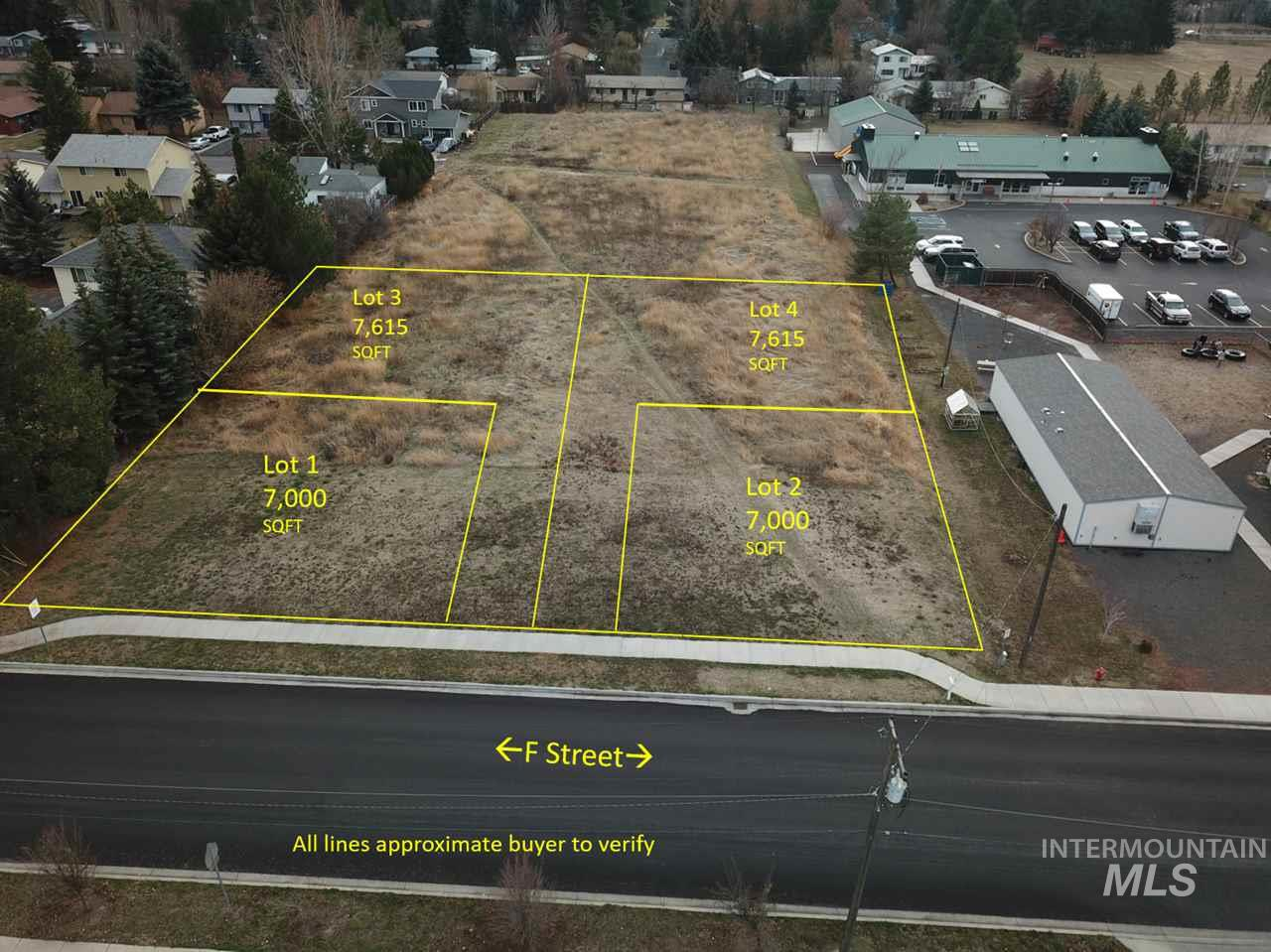 000 F Street Parcel #1, Moscow, Idaho 83843, Land For Sale, Price $77,000, 98718652
