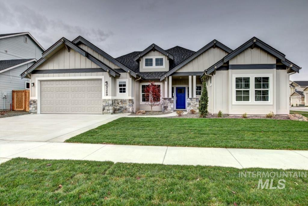 Another stunner by Todd Campbell Custom Homes! Large living spaces + modern open concept. Dream kitchen with huge island + double ovens + gorgeous custom cabinets. Great room with cozy fireplace + custom mantle. Main floor master with spa-like bathroom: Walk-in tiled shower + dual sinks + soaker tub. Spacious secondary bedrooms and den. Bonus upstairs has full bathroom-perfect office or guest room. Gorgeous mill work + molding. Full landscape + full fence. Walking distance to YMCA and pool. Photos similar