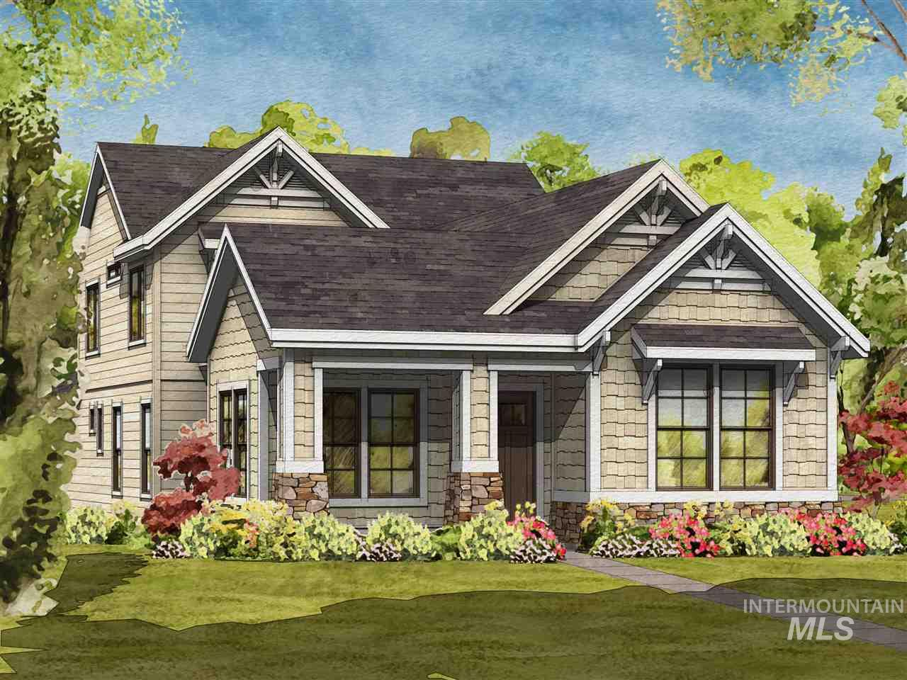The Summer Sun by Brighton Homes, in the 55+ Cadence Community. This spacious two story home features a beautiful main level master with walk-in shower and spacious closet. Retreat to the den to relax with a book or catch up on your favorite hobby.The kitchen features custom cabinets, a walk-in pantry and a stainless steel Bosch appliance package.The open layout makes this home perfect for entertaining. 100% Energy Star Certified. Interior specs shown are subject to change prior to completion date.