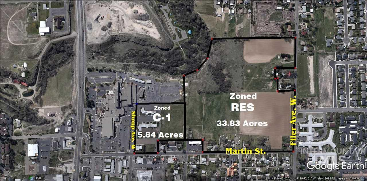 Martin St, Twin Falls, Idaho 83301, Land For Sale, Price $1,125,000, 98718995