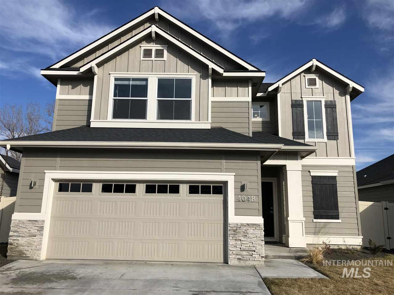 """PRICE REDUCED! Built in 2017, """"LIKE NEW"""" & complete w/ great upgrades, landscaping done & sprinkler system in. The """"Hermosa"""" model has great room appeal w/ large open living spaces on the main level & huge windows. Kitchen w/ granite slab, under mount sink, full tile backsplash, flat glass stove, upgraded dishwasher, built-in tech hub/desk. Sun Valley textured walls, custom white painted ceilings. Large Master Suite, master bath w/ dual sink & raised vanity, custom tiled tub, master shower, fully fenced."""