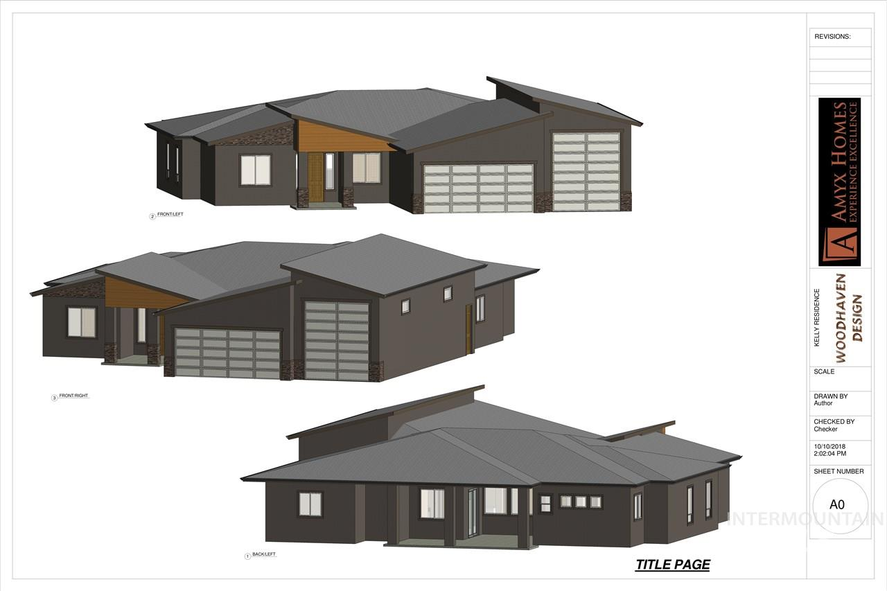 The Arlington RV by Amyx Homes. 2778 sqft, 3 bed, 2.5 bath. Single level, 27' deep 2 car garage along with a 49 ft deep RV garage! Finishes include hardwood and tile flooring, Custom cabinets and trim work. SS Bosch appliances. Luxurious master suite with tile floors, walk in tile shower, patio access, lrg master closet. his/her offices or office/formal dining. No direct backyard neighbor, located in the desirable Sawtooth Creek subdivision. Close to shopping, dining and freeway access. Photos are similar.