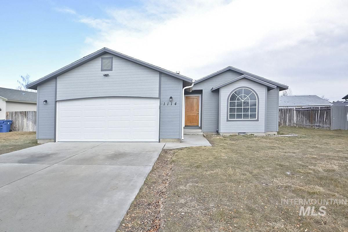 1114 W COLORADO, Nampa, Idaho 83686, 3 Bedrooms, 2 Bathrooms, Residential For Sale, Price $219,995, 98719486