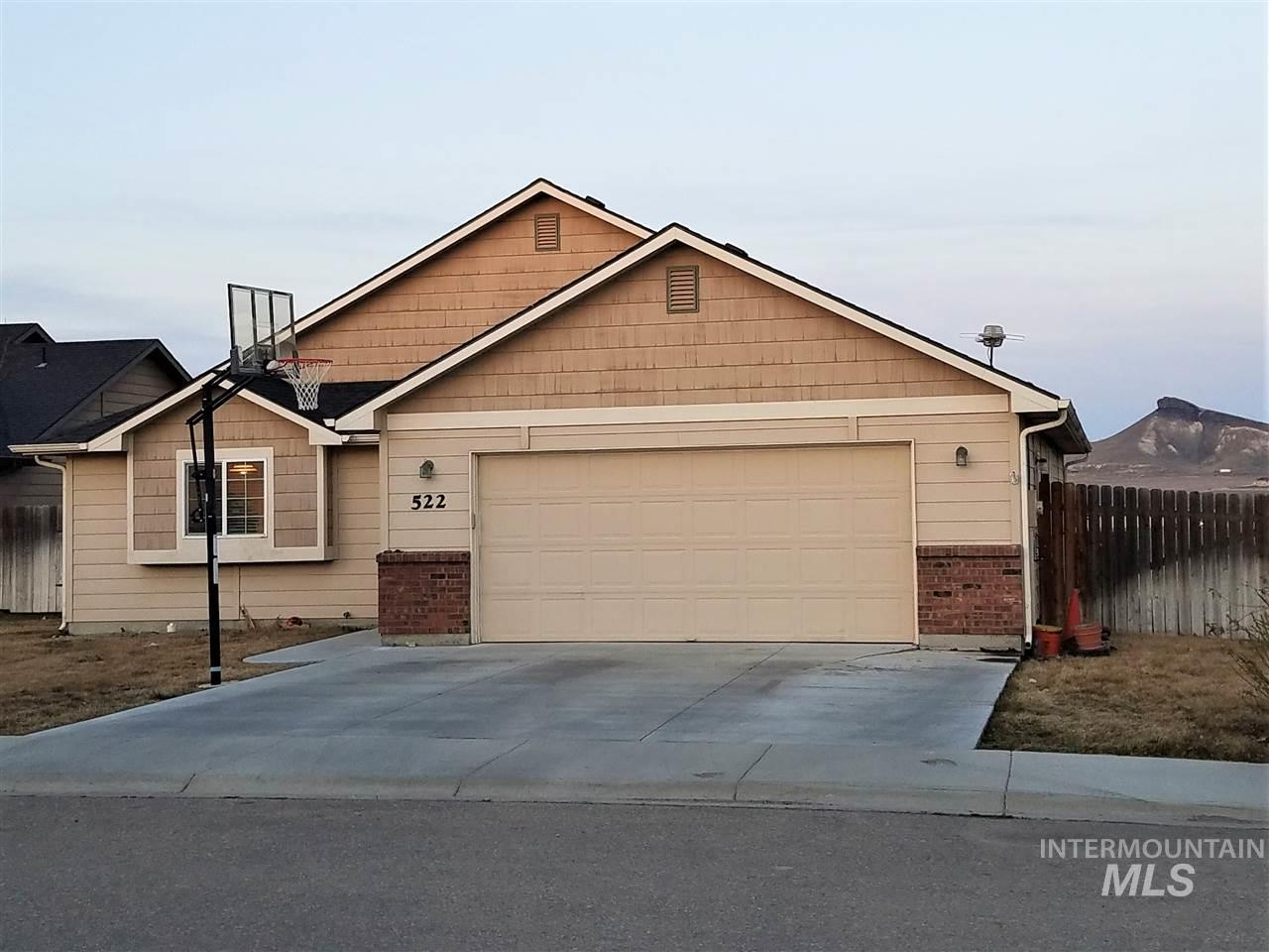 522 Morning Dove Way, Marsing, Idaho 83639, 3 Bedrooms, 2 Bathrooms, Residential For Sale, Price $245,900, 98722158