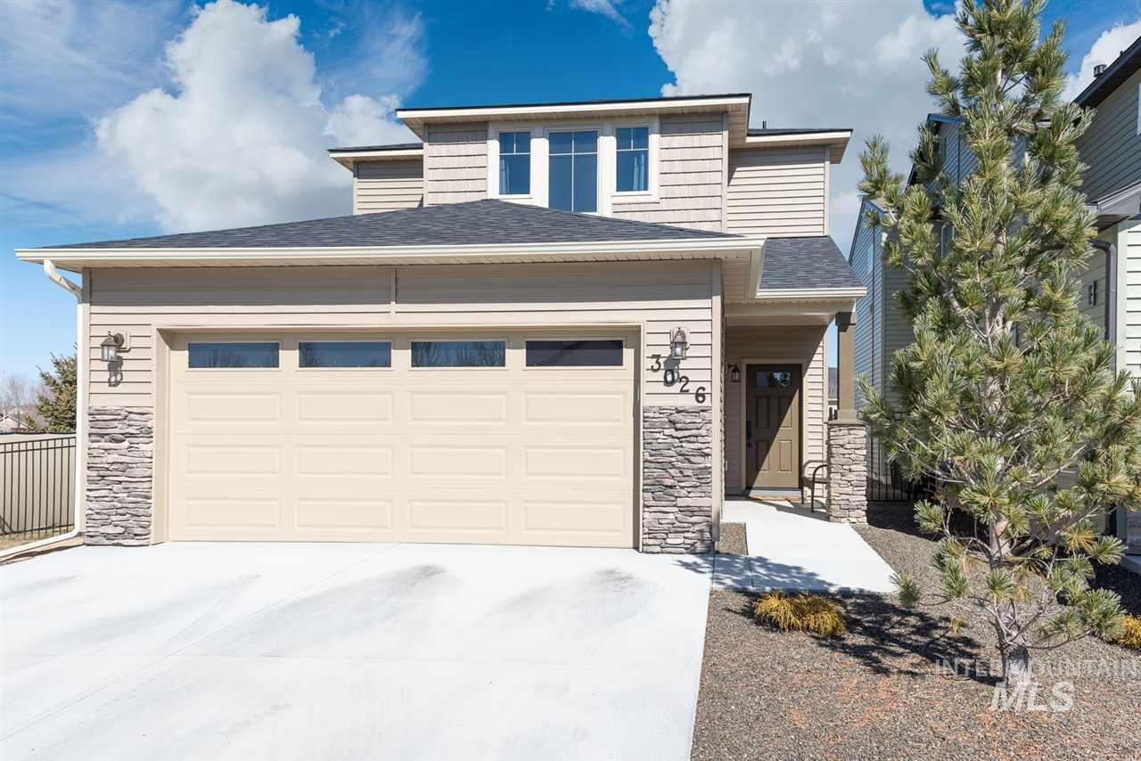 This beautiful almost new home offers open floor plan, with no neighbors to the north or west. Sit back and relax under your gazebo, and enjoy your no maintenance fully fenced backyard. Lawn, landscaping, and sprinklers, are maintained by HOA. All counter-tops are granite. Awesome walk-in pantry. Upstairs has a large master suite w/dual vanity and walk-in closet + built-in desk in the loft. House will be ready to move in whenever you are ready!