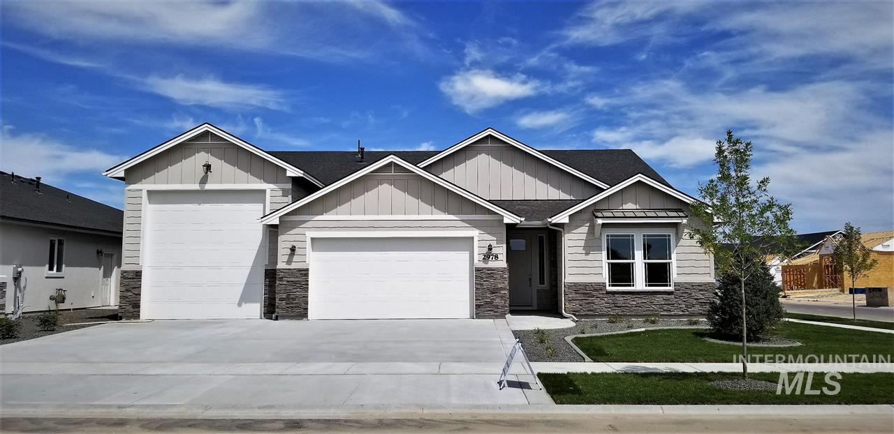 "Another fine custom home built by sought after KW Quality Built Homes! This new model is called ""Poppy"". What a delightful name for a warm and inviting place to live! Three spacious bedrooms including the master retreat, chef's kitchen with plenty of work space and large pantry, RV garage for your toys, craft or workshop."