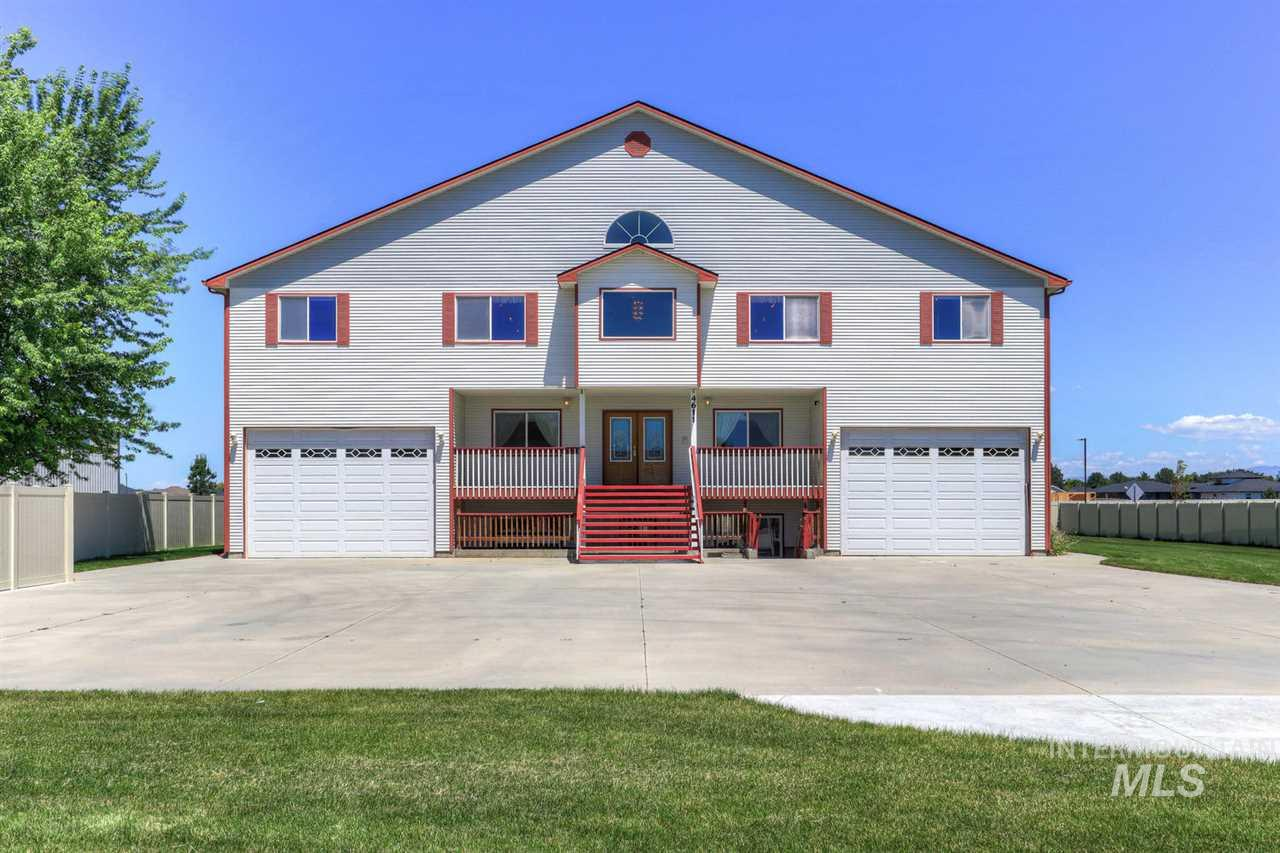 Incredible Value. Huge home with tons of storage. Massive 1000 sqft hardwood ballroom entry with 360 degree balcony. Large kitchen and dining; step down family room with gas fireplace; huge master suite with gas fireplace, hobby room and large bath with jetted tub and dual head shower; additional mini-master bedroom. Four other bedrooms are large with two closets each and have Jack-and-Jill bathrooms between pairs.