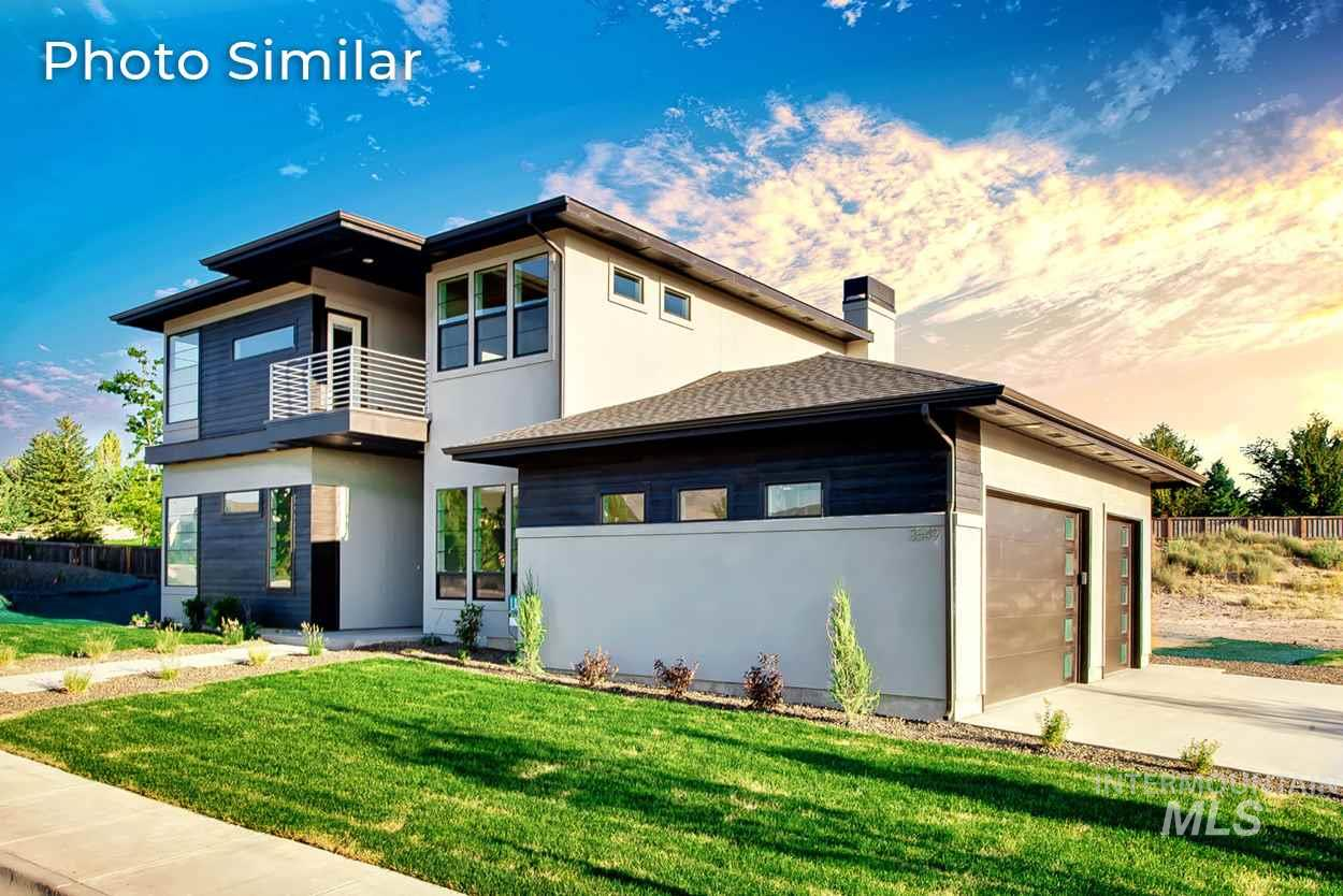 This home offers incredible spaces for entertaining w/rich amenities & wall of windows that captures the sunrise. Still time to customize to fit your needs. Room for everyone with 4 beds, office, and bonus room. Cul-de-sac location and just 15 minutes to downtown, minutes to I-84 freeway & the airport. Short drive to Lucky Peak, & Ridge to River trail system. Pictures of similar home.