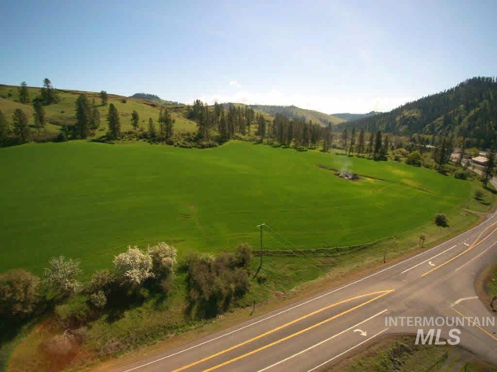 Located right out of Kooskia, Idaho on Highway 12, with easy highway access and beautiful river views is this 138 acres with 20 acres of Wild and Scenic Easement attached. Parcel has potential for development, farm ground, pasture, and home sites. Parcel is sloping to steep with some wire fencing. Elevation is approximately from 1350 feet to 1700 feet. Call us for a showing!