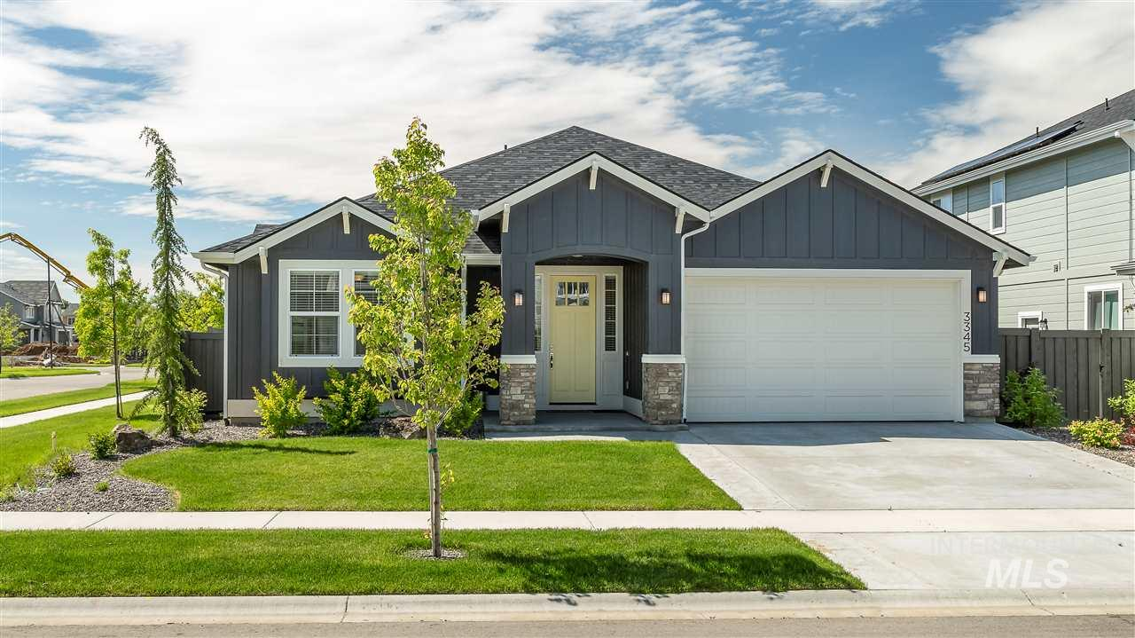 """Less than one year old and better than new! Owner has been transferred for work. Enjoy the views from the fully fenced rear yard and covered patio. Sale includes all appliances, including the washer/dryer and BBQ. Be sure to put this home at the top of your """"must see"""" list!"""