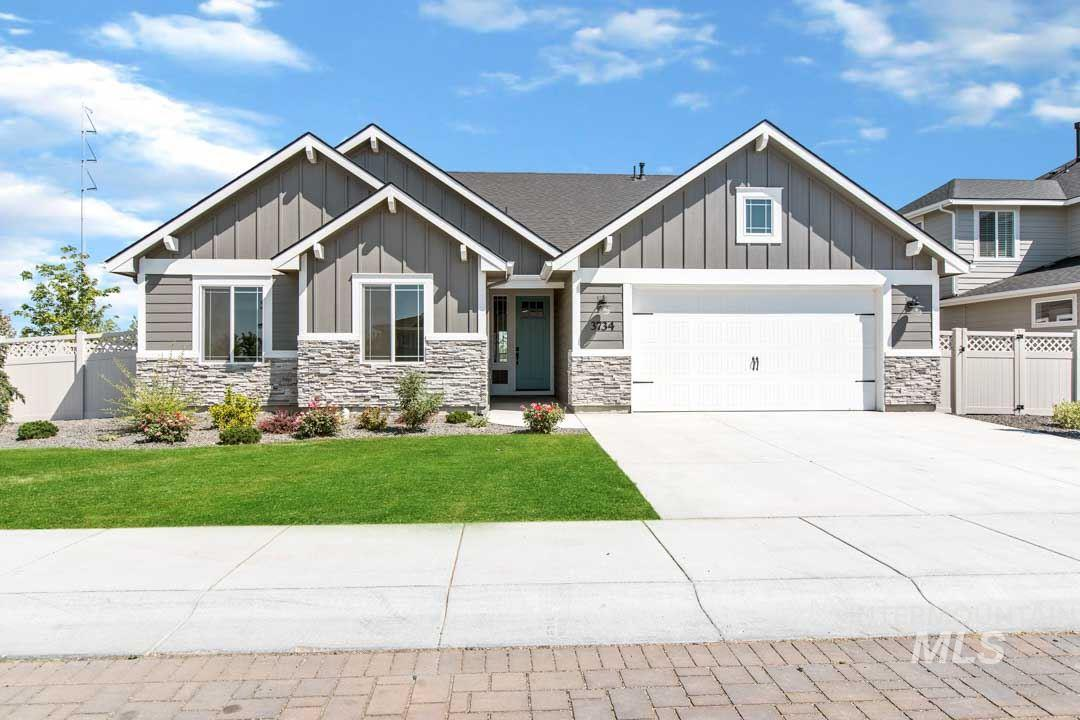 3734 W Balducci Street, Meridian, Idaho 83646, 4 Bedrooms, 2.5 Bathrooms, Residential For Sale, Price $424,900, 98733036