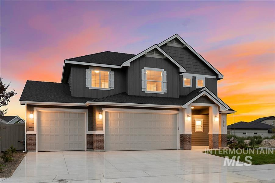3848 S Daybreak Way, Meridian, Idaho 83642, 4 Bedrooms, 2.5 Bathrooms, Residential For Sale, Price $432,275, 98733157